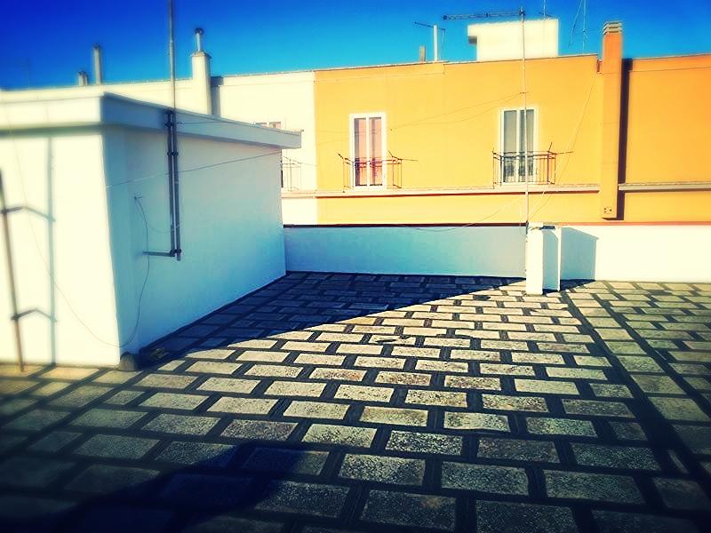 Lastrico solare del condominio